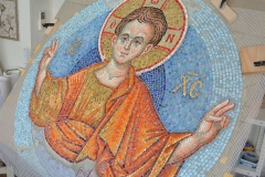 Christ Emanuil, mosaic.