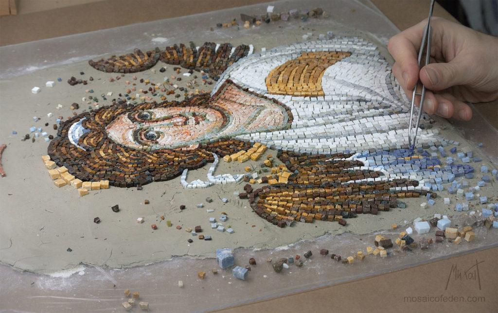 Beli Andjeo - mozaik