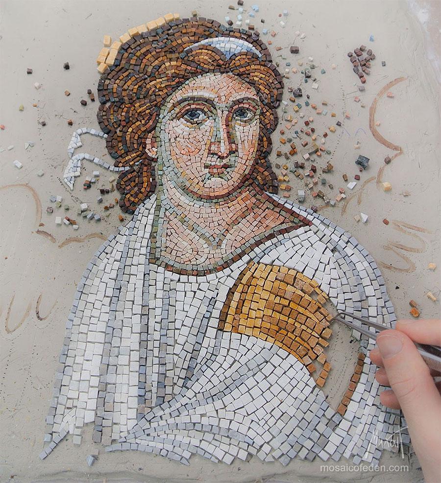 Mozaik Beli Andjeo