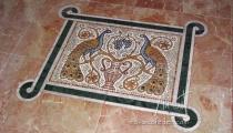 Mozaik Paunovi