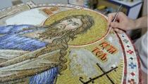 Свети Јован Крститељ - мозаик