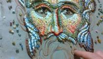 Mosaic of St Nicholas