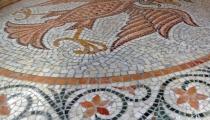 Mozaik dvoglavi orao